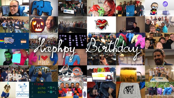 HaPHPy Birthday - the PHP movie